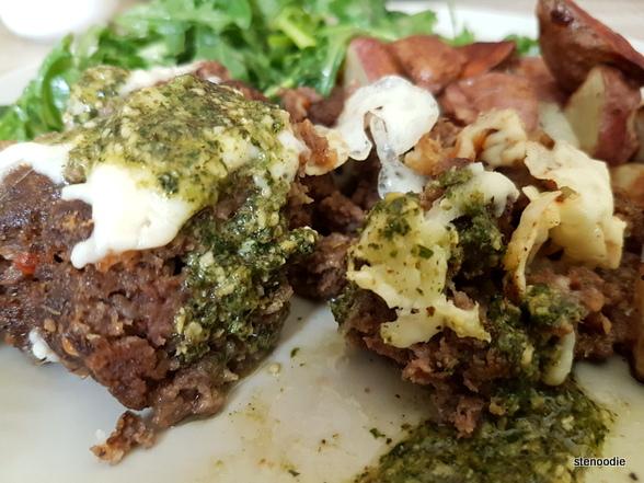 close-up of meatloaf