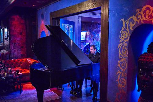 David Boeddinghaus at Piano Night - April 29, 2019. Photo by Eli Mergel.