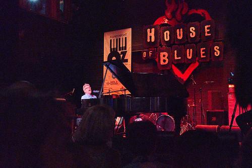 Tom Worrell at Piano Night - April 29, 2019. Photo by Eli Mergel.