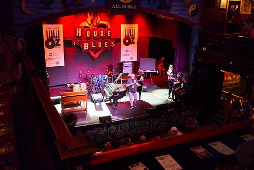 Joe Krown kicks off Piano Night - April 29, 2019. Photo by Eli Mergel.
