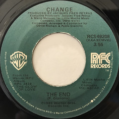 CHANGE:A LOVER'S HOLIDAY(LABEL SIDE-B)