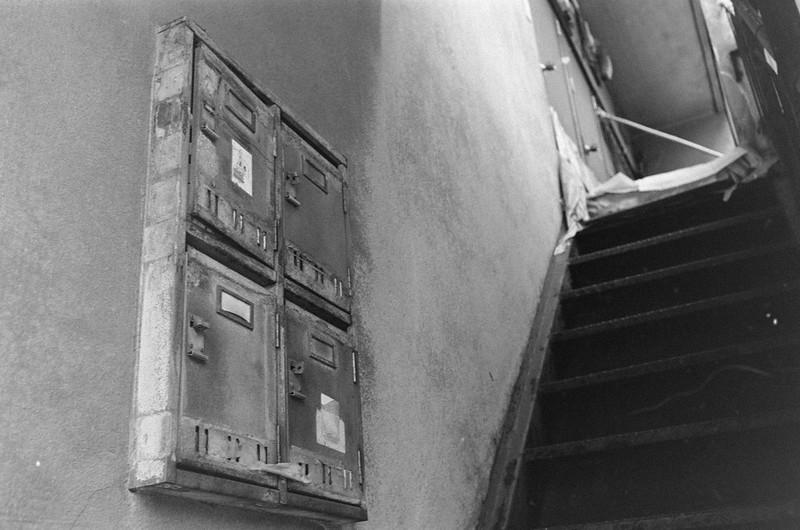173LeicaM2 Summaron 35mm f35 Kodak 400TX上池袋二丁目