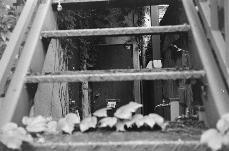 153LeicaM2 Summaron 35mm f35 Kodak 400TX上池袋二丁目