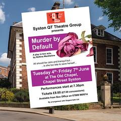 MurderByDefault-QTTheatre-Poster