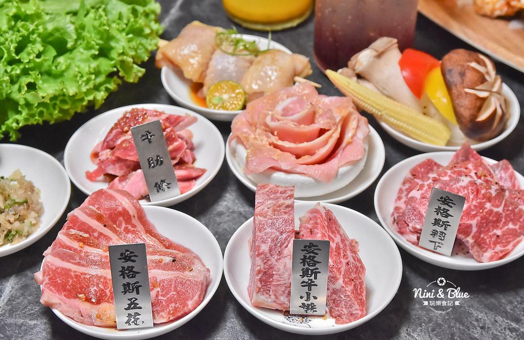 龍門馬場洞燒肉 菜單 台中北屯 摩天輪 海鮮31