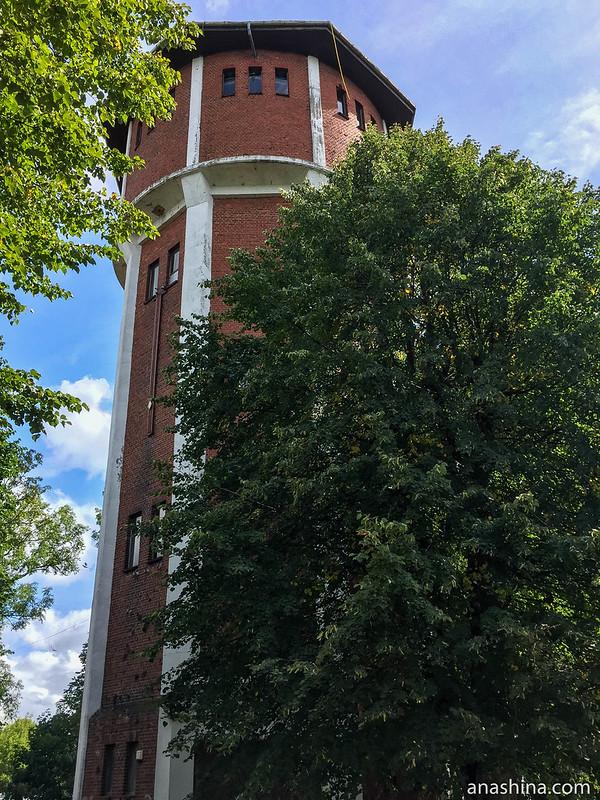 Водонапорная башня, Калининградская область, Янтарный