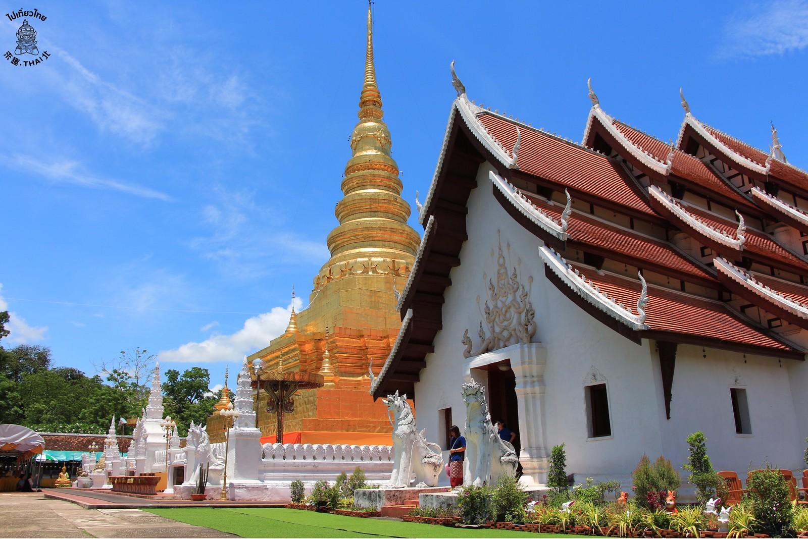 兔年生肖佛塔-Wat Phra That Chae Haeng(วัดพระธาตุแช่แห้ง)