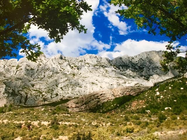 La montagne sainte victoire Marseille France ⛰☀️