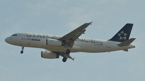 Aegean Airbus A320 @ HAM   by timur.tatlici