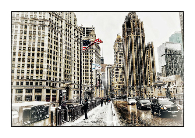 Winter at Chicago