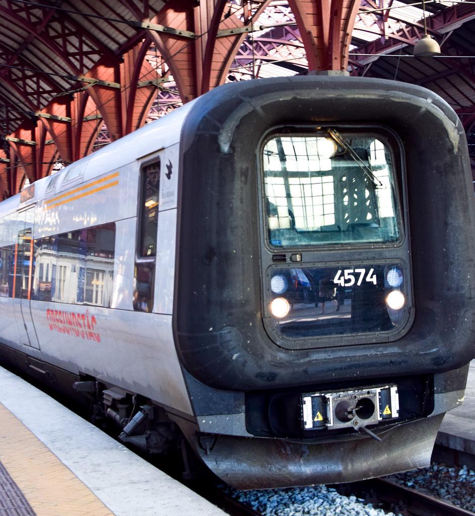 Tåg i Köpenhamn