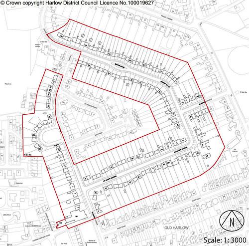 Harlow Garden Village Conservation Area