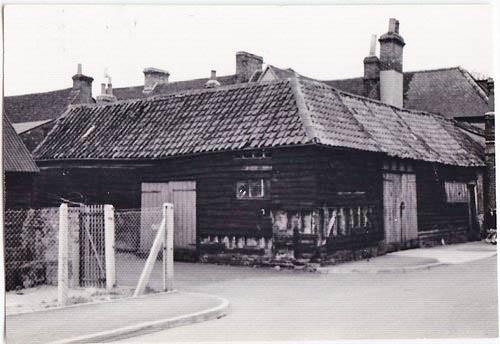 Coleman's Yard off Market Street, 1952 (8306)