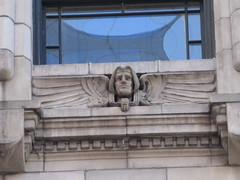 New Amsterdam Under Window Winged Gargoyle 8440