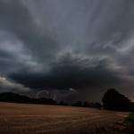 24. Aprill 2019 - 20:12 - First storm of 2019 in Rosendahl-Darfeld, Germany