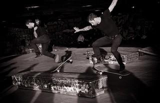 Skate boarder – South Bank – London
