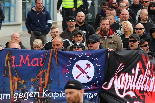 1. Mai - NPD-Aufmarsch Wismar
