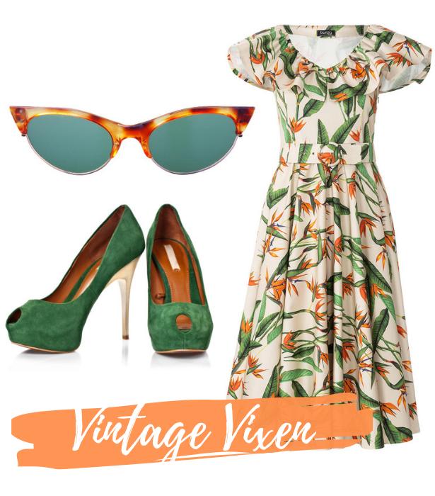 Retro Dress Vintage Vixen