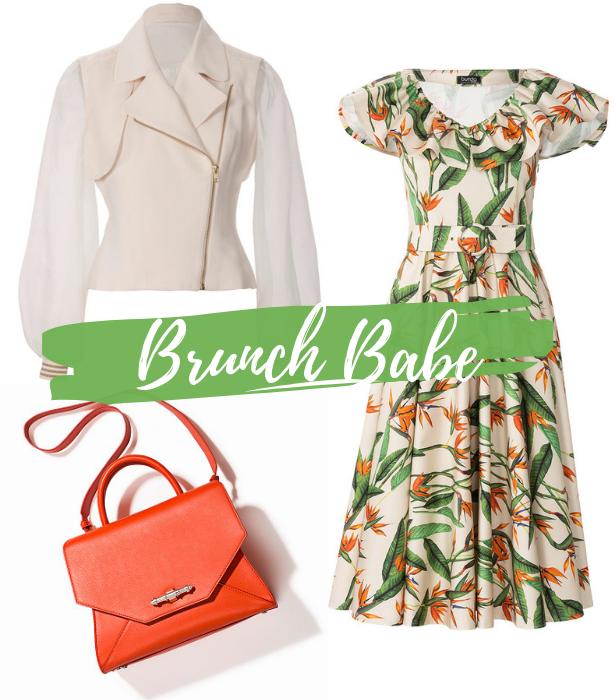 Retro Dress Brunch Babe