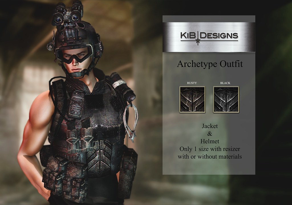 KiB Designs – Archetype Outfit @Darkness Event