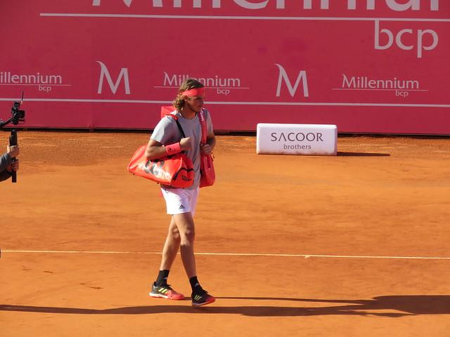 Stefanos Tsitsipas. Millenium Estoril Open 01.05.2019