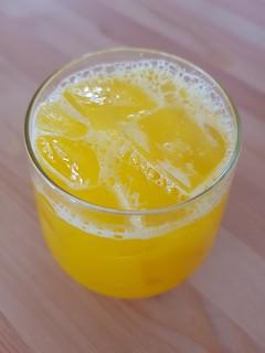 Pineapple, Grapefruit, Turmeric, Ginger Juice at Flora by Greenhouse West End