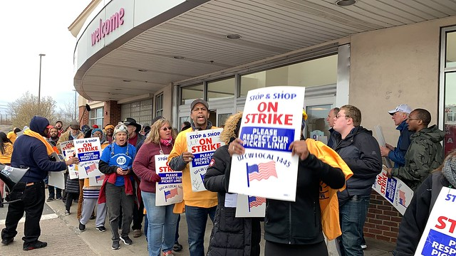 New England Stop and Shop Rally