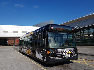 Go North East: NK56KHZ / 5253 - Scania Omnicity