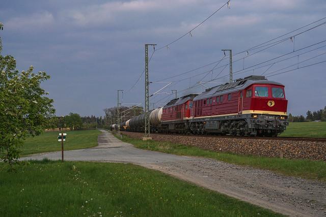 232 068 Leipziger Eisenbahngesellschaft mbH   Kornbach   Mai 2019