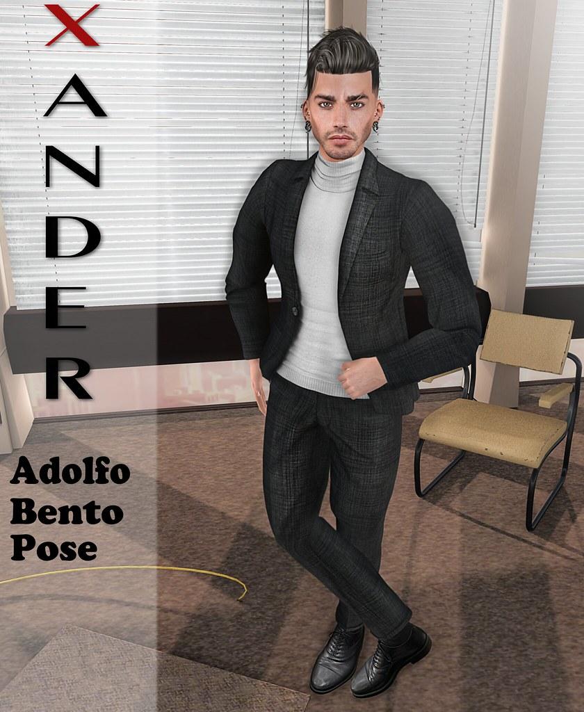 Xander Adolfo Bento Pose #7 M