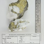 Millerite with Quartz