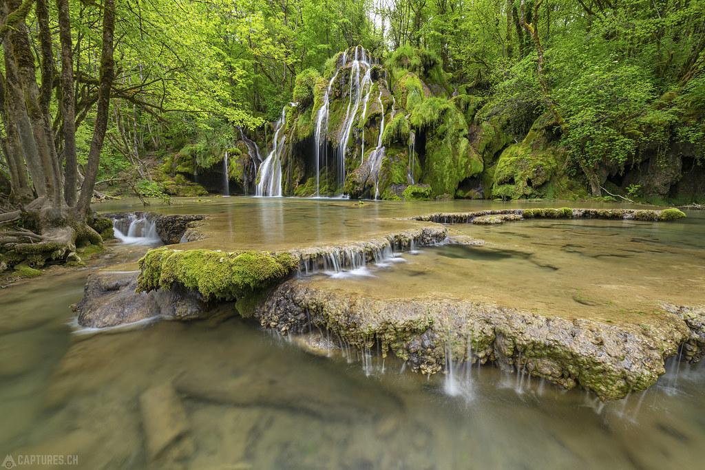The waterfall - Cascades des Tufs