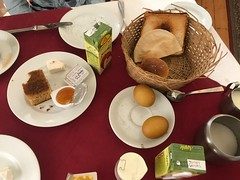 Breakfast at the Windsor Hotel, Cairo