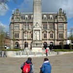 Preston Cenotaph and Shankly Hotel