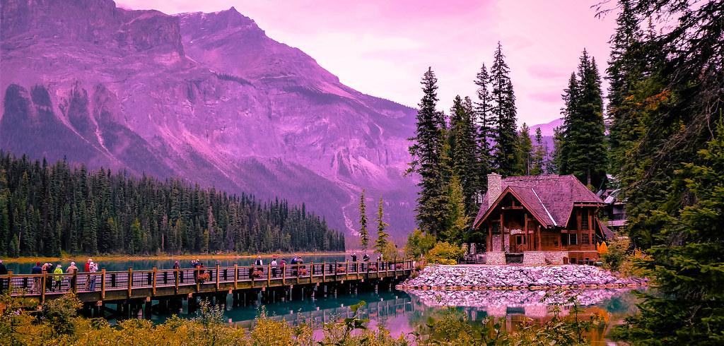 The Bridge, Emerald Lake