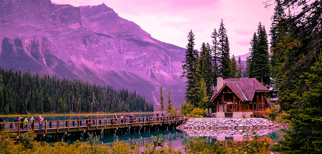 The Bridge, Emerald Lake