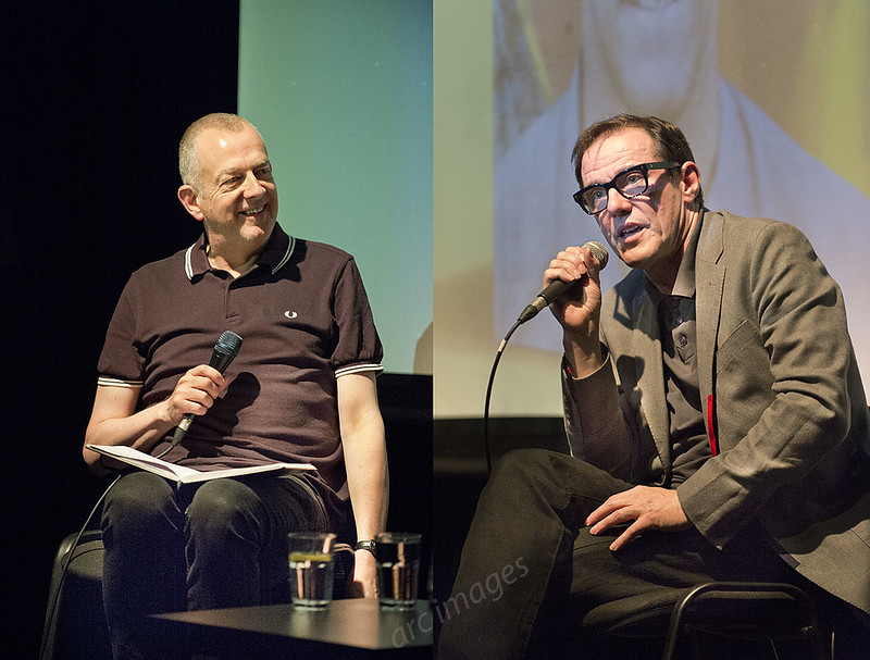 Stephen Morris of New Order in conversation with Dave Haslam, Trades Club, Hebden Bridge