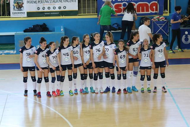 Finale Territoriale U13 Brugherio 1 Maggio 2019 Bracco Pro Patria  - Visette Volley 1 - 2