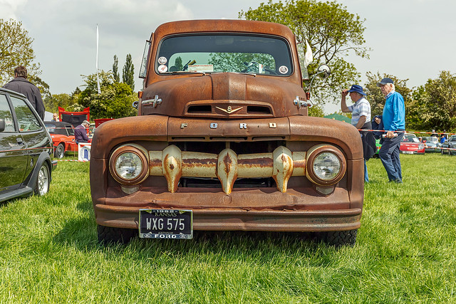 An old Ford truck ...