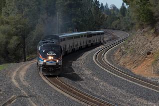 Amtrak #130 Clipper Gap #2
