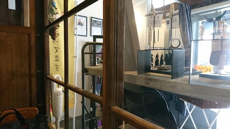 衣服・雑貨などを販売しているC.Cafeの店頭の写真です。