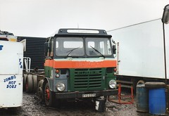 Reiver RE229 posted a photo:	This is when David had first bought it to replace his ageing ERF LV 8 wheeler,As you can see it ex Plasmor Blocks and a few of their lorries ended up in show land.