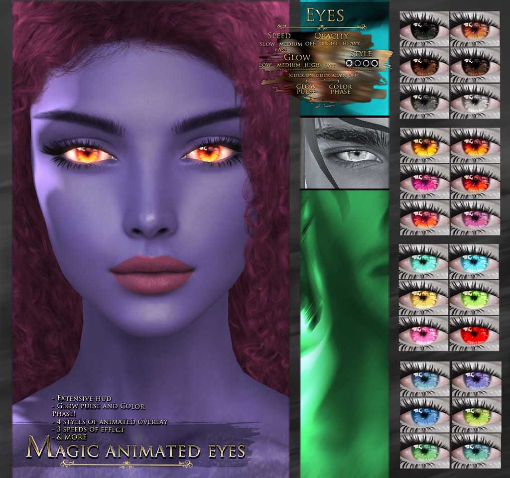 -Elemental- 'Magic' Animated Eyes Advert