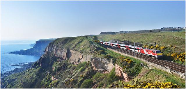 The cliff top railway