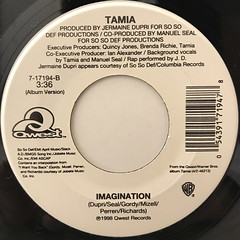 TAMIA:SO INTO YOU(LABEL SIDE-B)