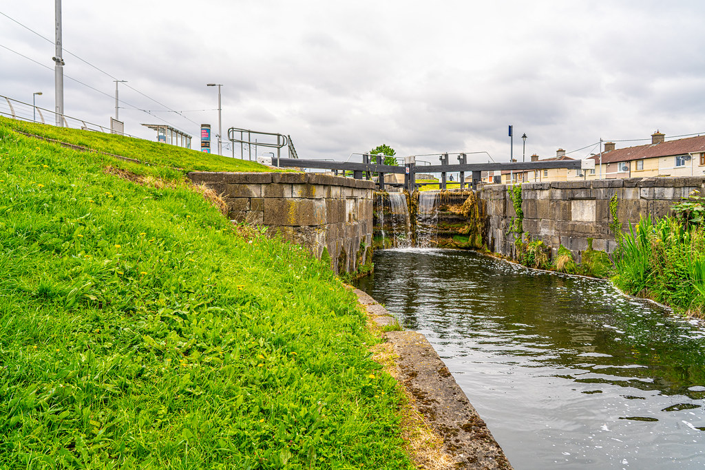 THE FIRST LOCK ON THE GRAND CANAL 002