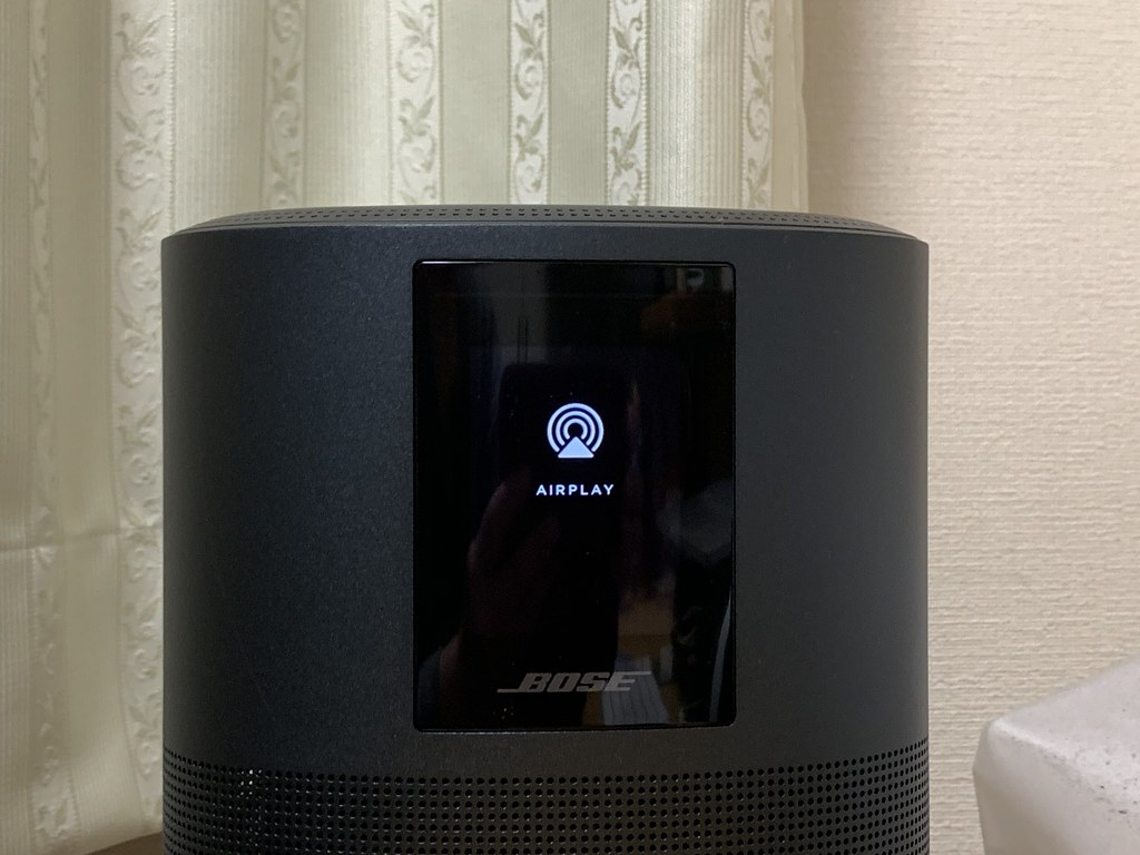 AirPlay 2 on Bose Home Speaker 500
