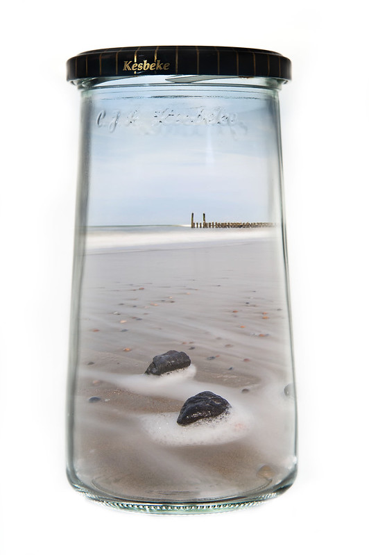 Bottle of beach
