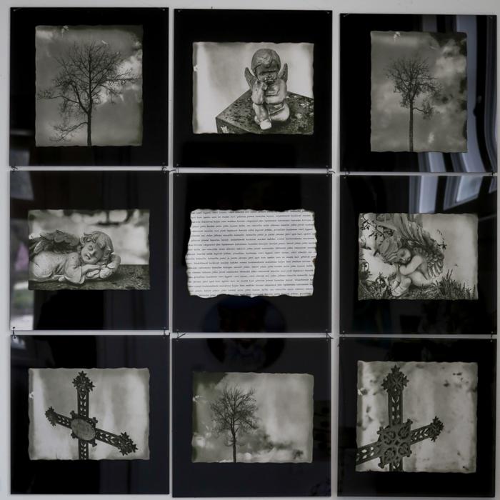 taidenäyttely häkkiterapiaa galleria alli kerava valokuvataide dark art kokeellinen tulostus