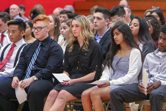 Honor Societies Inductions 2019